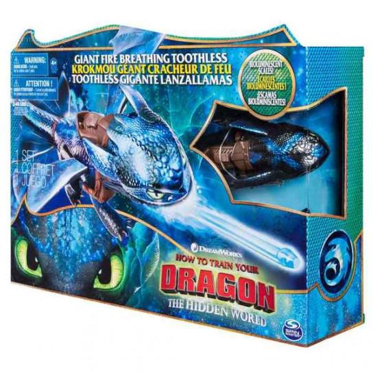 Как приручить дракона 3: большой дракон Беззубик, что дышит огнем