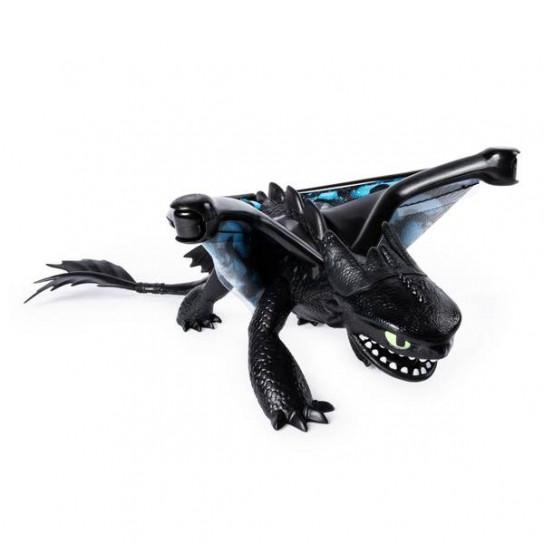 Как приручить дракона 3: фигурка де-люкс дракона Беззубика со световыми и звуковыми эффектами