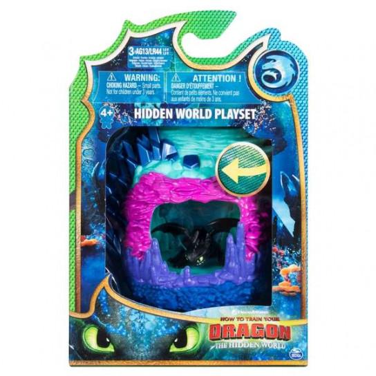 Как приручить дракона 3: игровой набор «Логово дракона Беззубика»