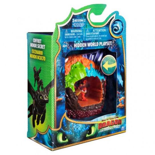 Как приручить дракона 3: игровой набор «Логово дракона Кривоклыка»