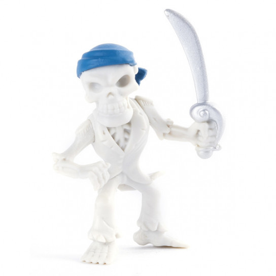 Коллекционная мини-фигурка (5 см): скелет