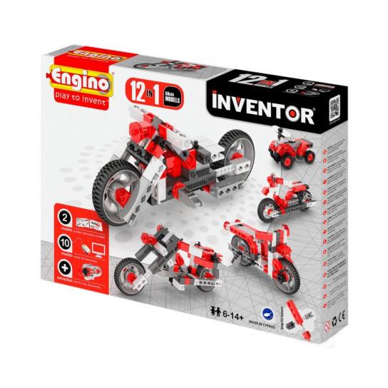 Конструктор Inventor 12 В 1 - Мотоцикли
