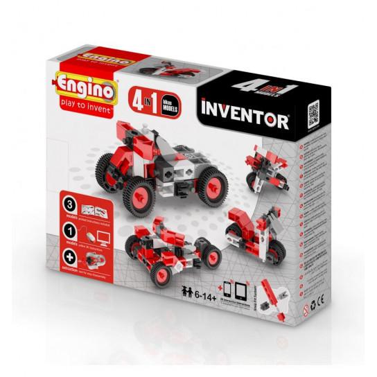 Конструктор Inventor 4 В 1 - Мотоциклы