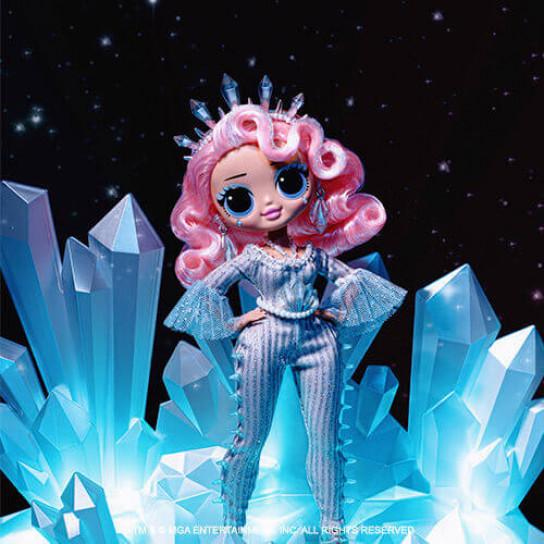 """Игровой набор с куклой L.O.L. SURPRISE! серии """"O.M.G. Winter Disco"""" – ЛЕДИ КРИСТАЛЛ"""