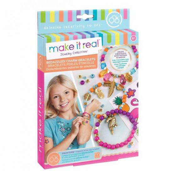 Make it Real: Набор для создания шарм-браслетов «Графические джунгли»