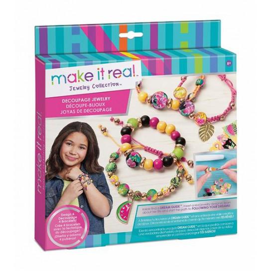 Make it Real: Набор для создания волшебных браслетов «Декупаж»