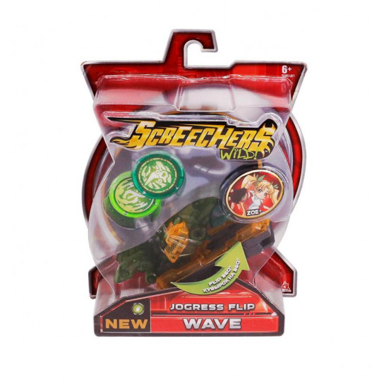 Машинка-трансформер Screechers Wild! S2 L1 - Вэйв
