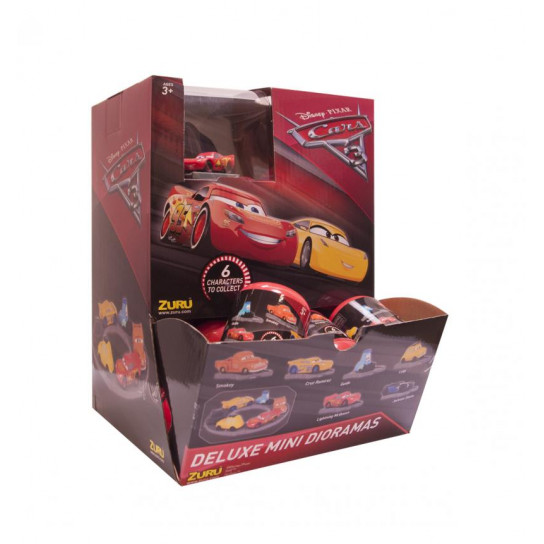 Машинка В Капсуле Серии Cars 3 (В Диспенсере)