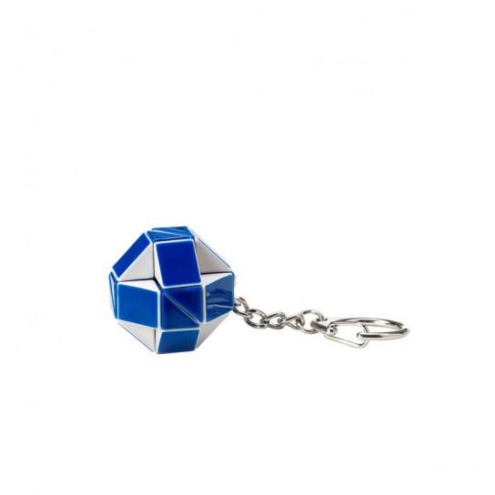 Мини-Головоломка Rubik's – Змейка Бело-Голубая