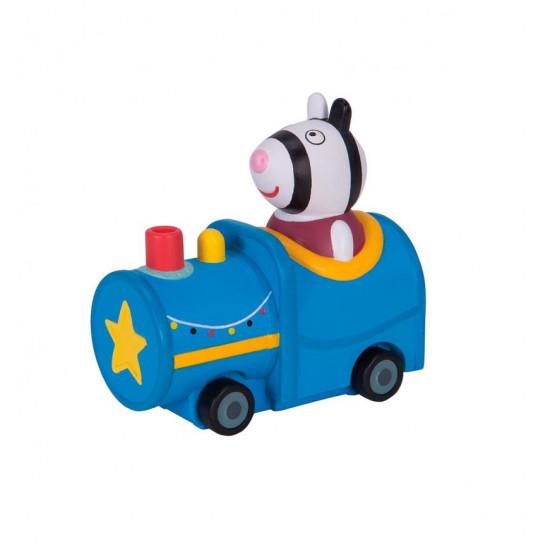 Мини-Машинка Peppa Серии Когда Я Вырасту - Зебра Зоя В Поезде