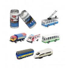 Міні-Моделі Міській Транспорт - Машинка У Банці