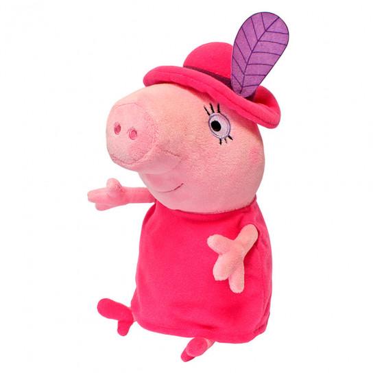 Мягкая Игрушка - Мама Свинка В Шляпе