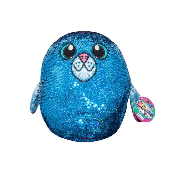 Мягкая Игрушка С Пайетками Shimmeez S2 - Тюлень Аква