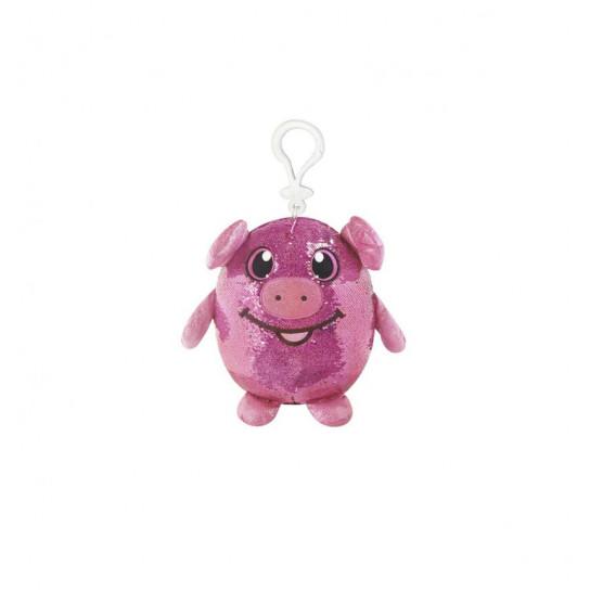 Мягкая Игрушка С Пайетками Shimmeez – Забавная Свинка
