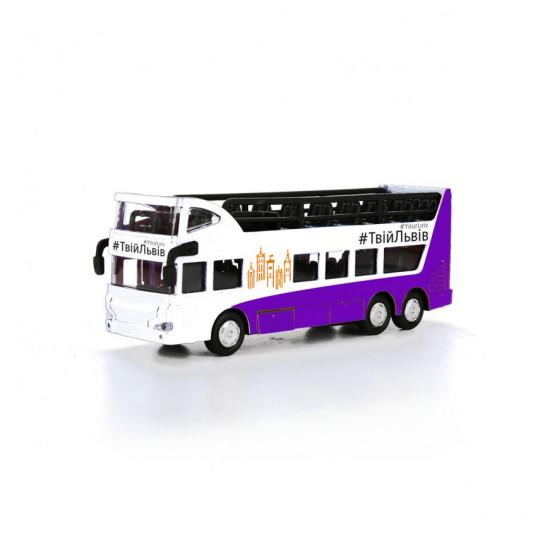 Модель – Автобус Двухэтажный Львов