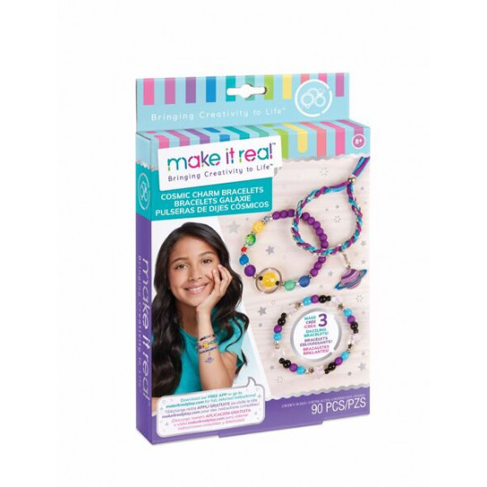 """Make it Real: Набор для создания шарм-браслетов """"Звездная пыль"""""""