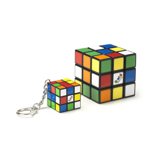 Набор Головоломок 3*3 Rubik's - Кубик И Мини-Кубик (С Кольцом)