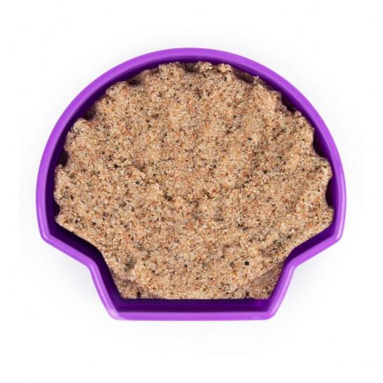 Набор песка для детского творчества - KINETIC SAND РАКУШКА ФИОЛЕТОВАЯ