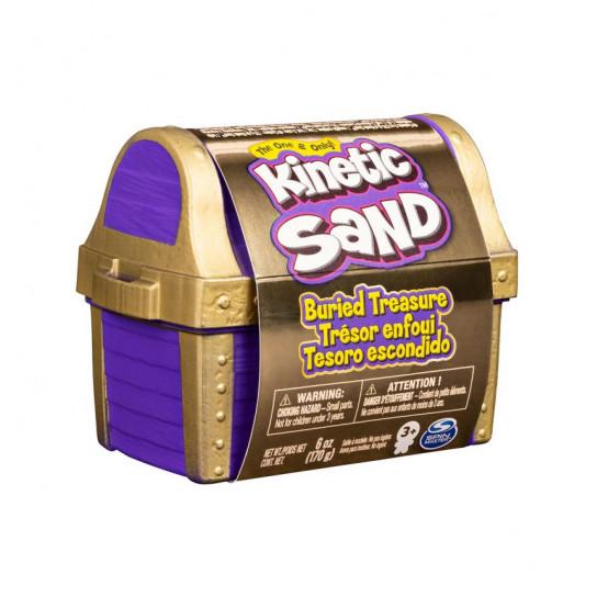 Набор песка для детского творчества - KINETIC SAND ЗАТЕРЯННОЕ СОКРОВИЩЕ