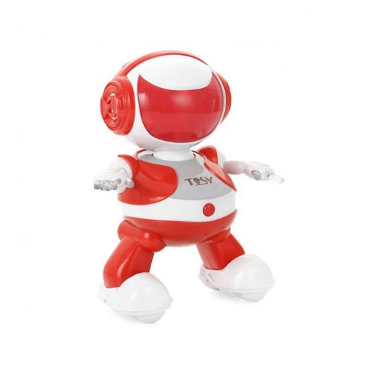 Набор с интерактивным роботом DISCOROBO – АЛЕКС ДИДЖЕЙ (робот, MP3-плеер с колонками, танцует,озв.)