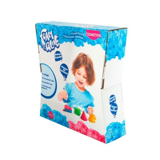 Набор С Воздушной Пеной Для Детского Творчества Foam Alive - Мороженое