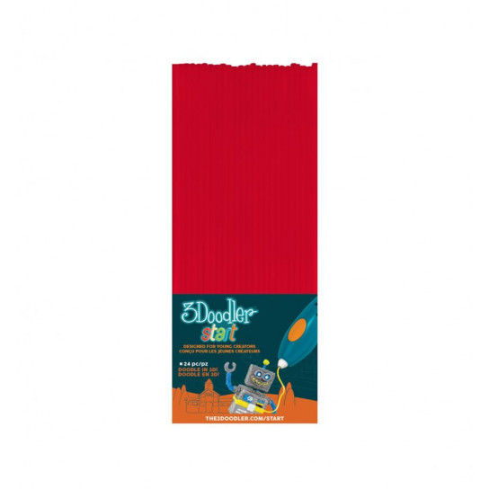Набор Стержней Для 3D-Ручки 3Doodler Start (Красный)
