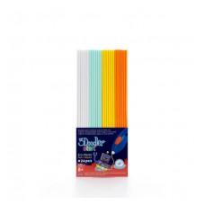 Набор Стержней Для 3D-Ручки 3Doodler Start - Микс (24 Шт: Белый, Мятный, Желтый, Оранжевый)