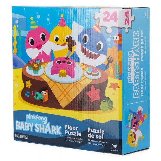 Напольный пазл «Baby Shark»