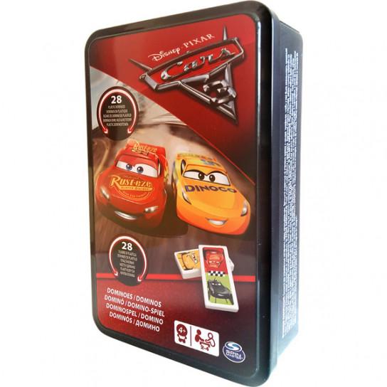 Настольная игра: домино Тачки-3 (в жестяной коробке)