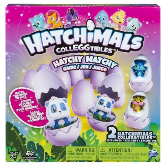 Настольная игра-мемори Hatchimals с двумя эксклюзивными коллекционными фигурками