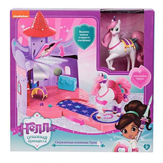 Нелла –отважная принцесса: большой игровой набор «Конюшня Тринкет»