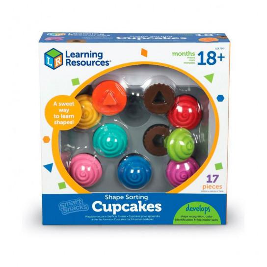 Обучающий игровой набор-сортер Learning Resources - Капкейки