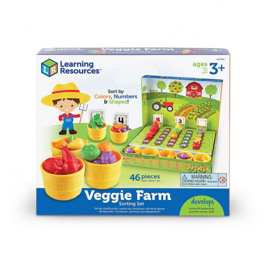 Обучающий Игровой Набор-Сортер Learning Resources - Умный Фермер