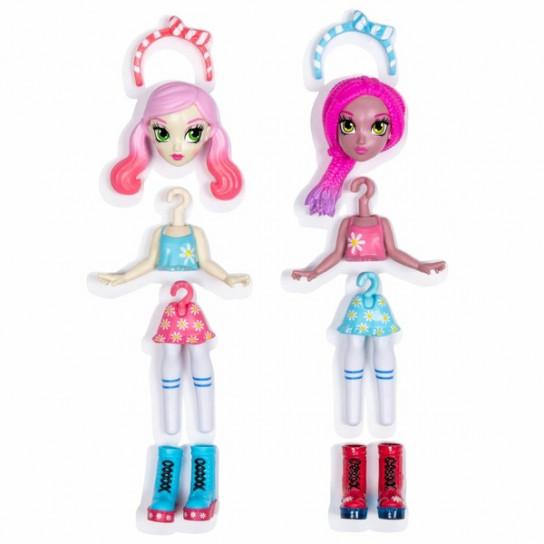 Off the Hook: набор из двух стильных кукол Летний отпуск Вивьен и Дженни
