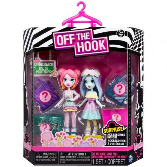 Off the Hook: набор из двух стильных кукол Весеннее диско Алексис и Бруклин