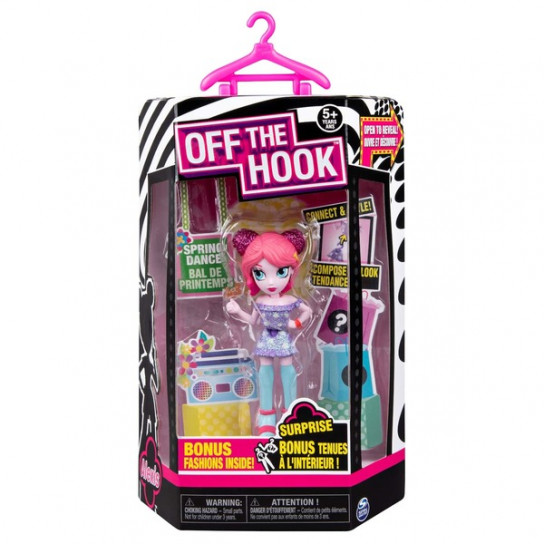 Off the Hook: стильная кукла Алексис (серия Весеннее диско)