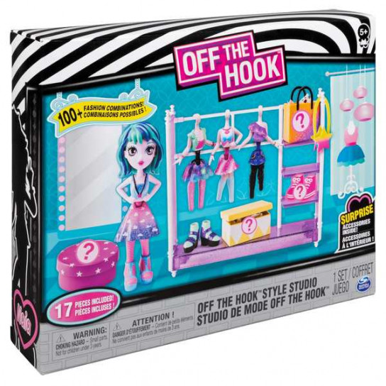 Off the Hook:игровой набор Студия стиля