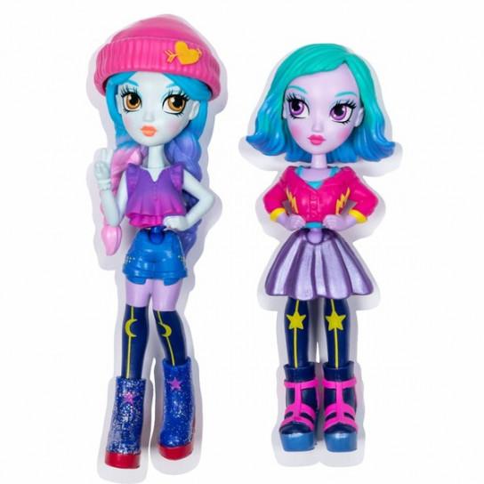 Off the Hook:набор из двух стильных кукол Коктейльная вечеринка Ная и Мила