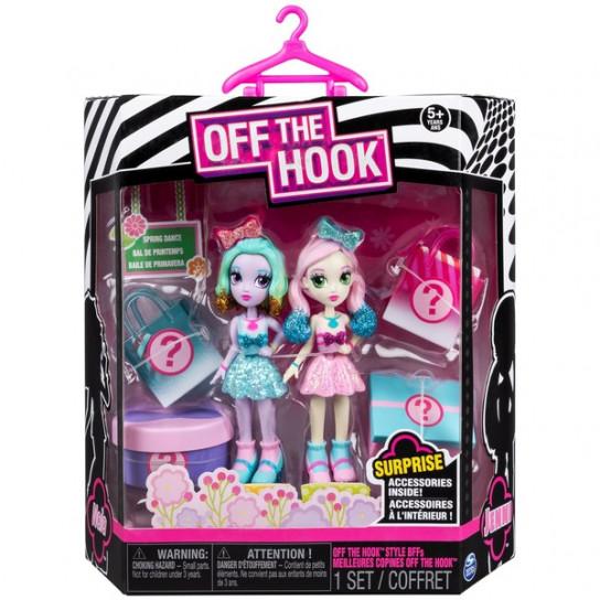 Off the Hook:набор из двух стильных кукол Весеннее диско Ная и Дженни