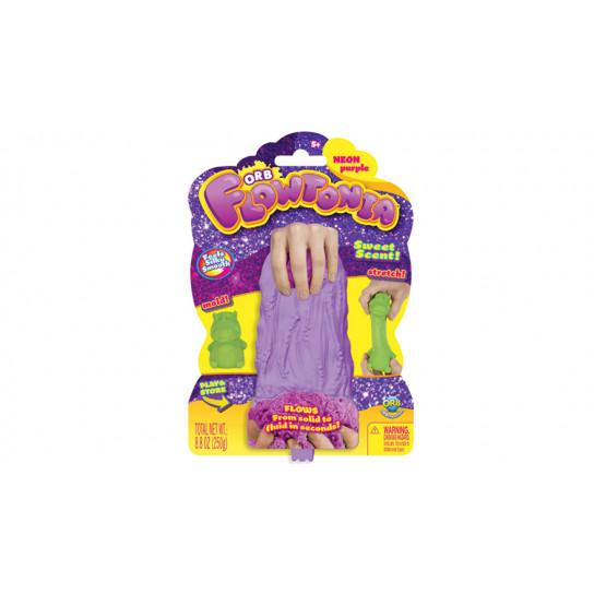 ORB Flowtoniа: Кинетический слаймо-песок фиолетовый (250 г)