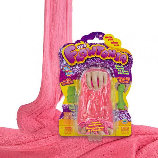 ORB Flowtoniа: Кинетический слаймо-песок розовый (250 г)