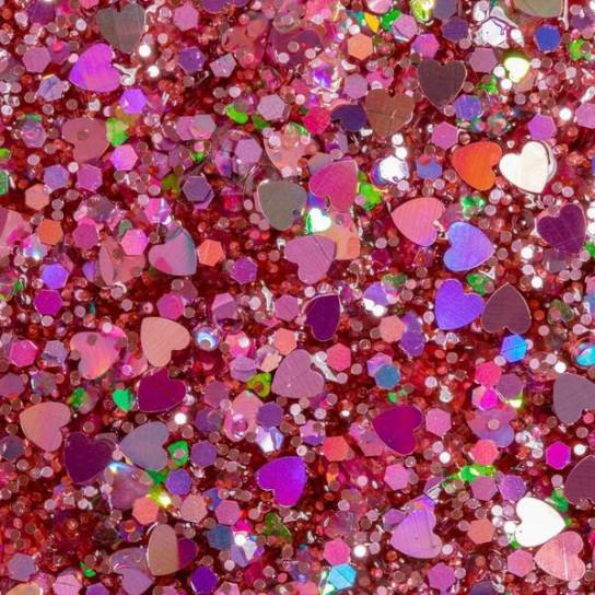 ORB Slimy Xtreme Glitterz: мега-глиттерный слайм в контейнере розовый (455 г)