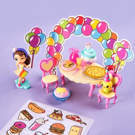 Party Popteenies Ava, Набор: «Подарок – сюрприз»