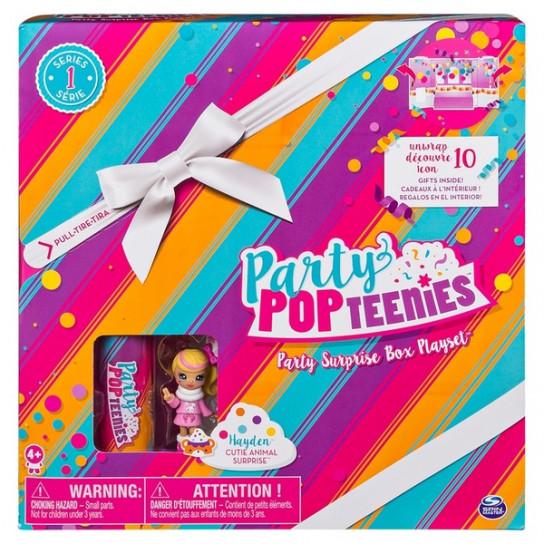 Party Popteenies Hayden, Набор: «Подарок – сюрприз»