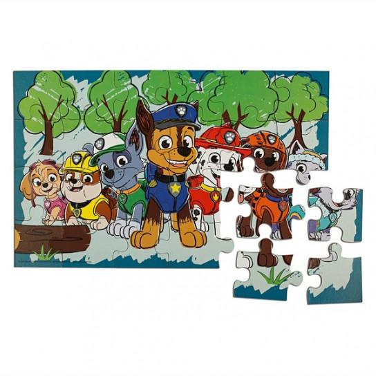 Пазл деревянный 4в1 «Щенячий патруль» (в деревянной коробке)