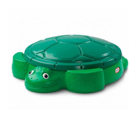 Песочница - Веселая черепаха (с крышкой)