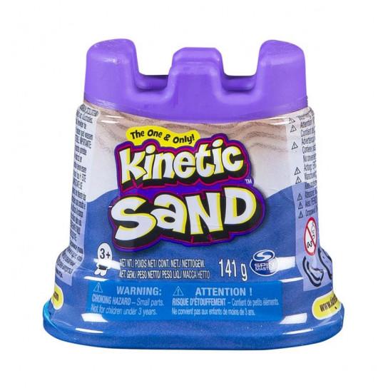 Песок Для Детского Творчества - Kinetic Sand Мини Крепость (Голубой)