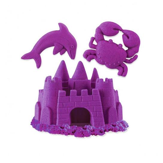 Песок Для Детского Творчества - Kinetic Sand Neon (Фиолетовый)