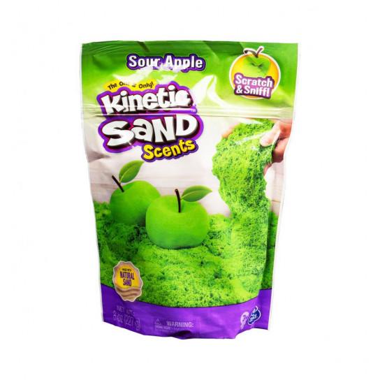 Песок для детского творчества с ароматом - Kinetic Sand Карамельное яблоко