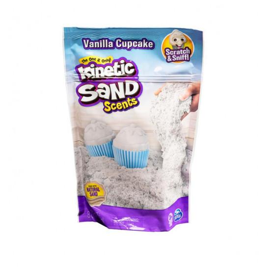 Песок для детского творчества с ароматом - Kinetic Sand Ванильный капкейк